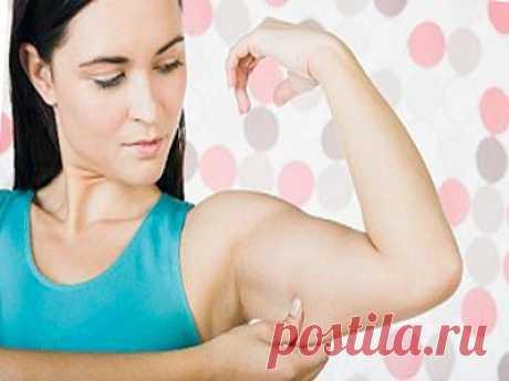 Как убрать жир с рук – упражнения, питание