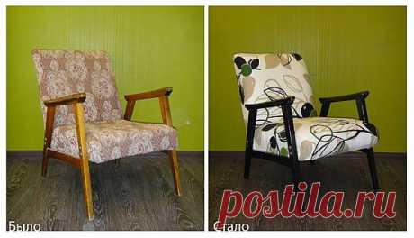 Новая жизнь старого кресла / Мебель / Модный сайт о стильной переделке одежды и интерьера