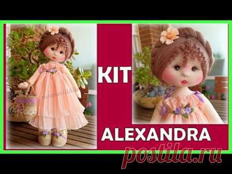 PROMO KIT muñeca ALEXANDRA y materiales que usaremos  video - 467