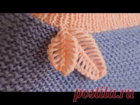 Листики крючком 🍃 Crochet leaves