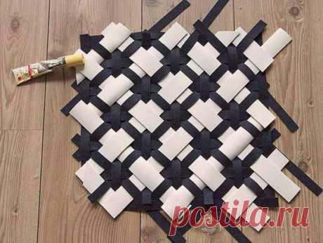 Pinterest Плетеная подушка