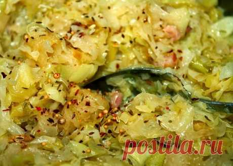 Новый вариант приготовления капусты. 2 минуты на предподготовку и 7 минут на приготовление   Кулинарный техникум   Яндекс Дзен