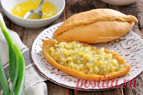 Татарская кухня: Бэрэнге тэкэсе (пироги с картошкой)