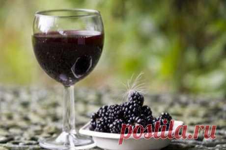 Вино из ежевики в домашних условиях: лучший рецепт приготовления