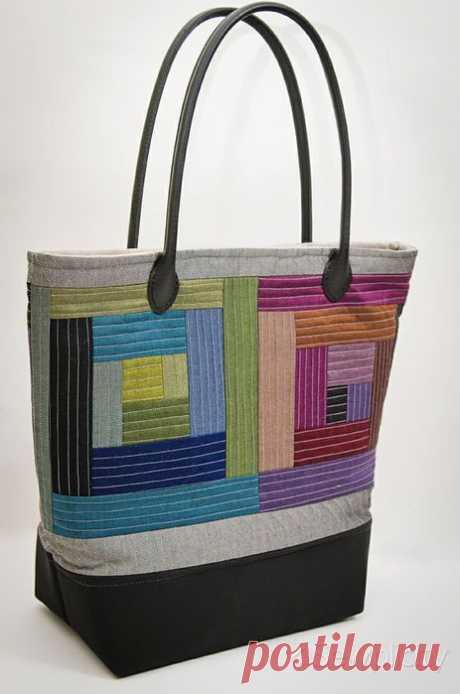 Подборка лоскутных сумок и сумочек.