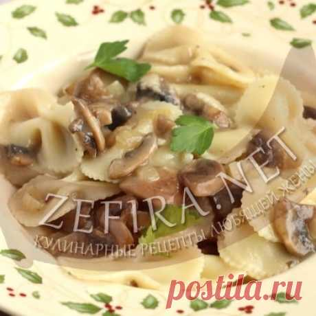 Постный грибной соус к макаронам – Кулинарные рецепты любящей жены
