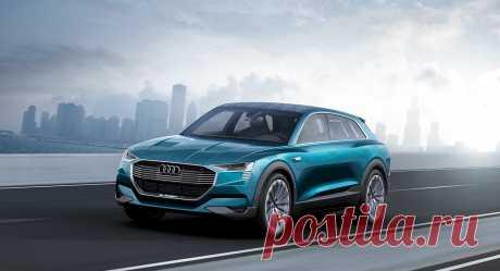 Audi E-Tron: история появления, внешний вид и интерьер, характеристики