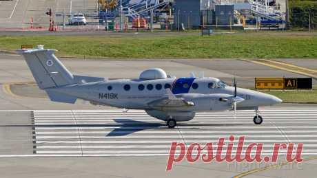Фото Beechcraft Super King (N419K) ✈ FlightAware