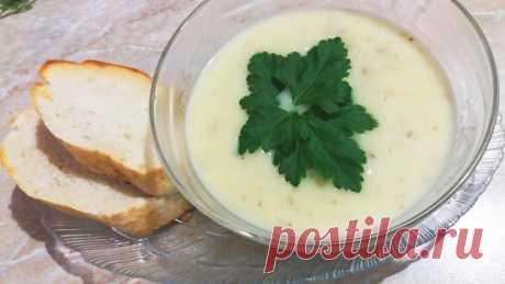 Сырный суп-пюре с грибами - рецепт с фото пошагово