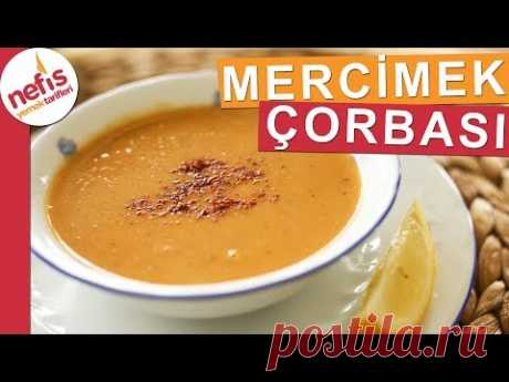 Tam Kıvamında Kırmızı Mercimek Çorbası - Muhteşem bir çorba - Nefis Yemek Tarifleri
