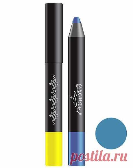 Фото – Устойчивые тени - карандаш для глаз, оттенок: Синее небо: купить в интернет-магазине NSP в России