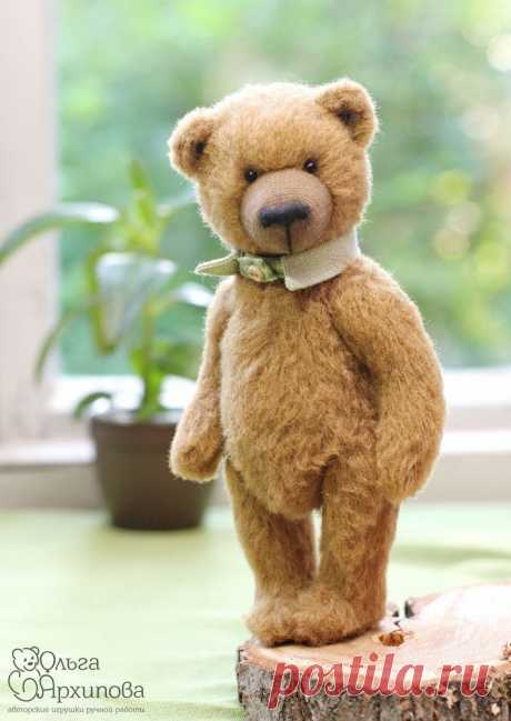 Бесплатная авторская выкройка мишки Тедди по имени Брауни   Журнал Ярмарки Мастеров