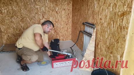 Как заполнить систему отопления дома водой, если нет опрессовочного насоса | Кубанский мастер | Яндекс Дзен