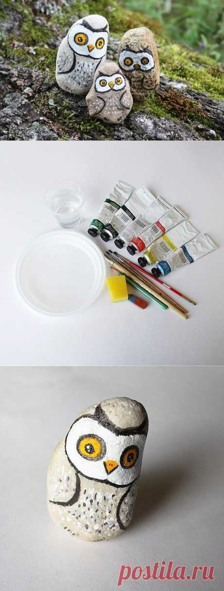 (+1) - In what to be engaged with children: | MAKE drawings on stones!