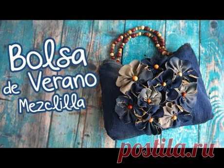 Bolsa de Verano con Mezclilla :: Chuladas Creativas