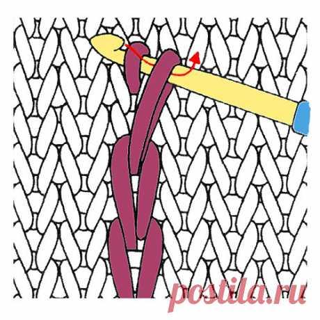 Вышивка крючком по вязаному полотну | Дневник вязальщицы | Яндекс Дзен