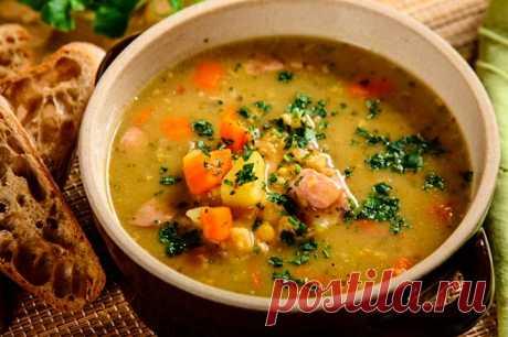 Солдатский гороховый суп с говядиной – пошаговый рецепт с фото.