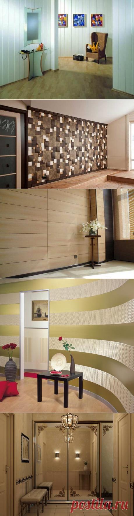 Стеновые панели для прихожей — Роскошь и уют