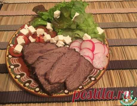 Запечённая говяжья грудинка на манер пастромы – кулинарный рецепт
