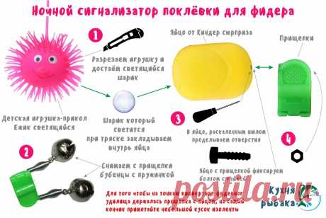 Ночной сигнализатор поклёвки для фидера | Кухня рыбака | Яндекс Дзен