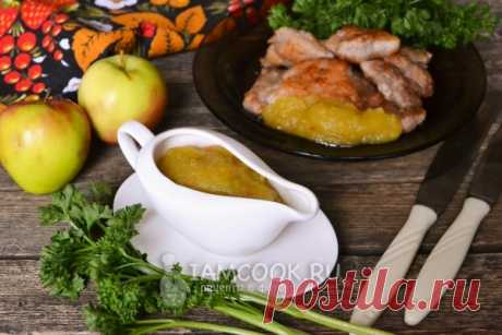 Соус из яблок на зиму — рецепт с фото пошагово. Как приготовить острый яблочный соус к мясу на зиму?