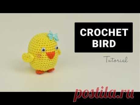 Crochet Amigurumi Bird   Croby Patterns - YouTube