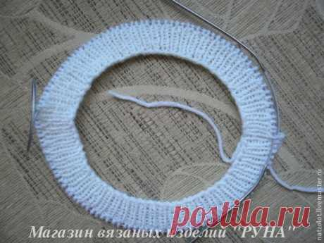classical knitted beret spokes