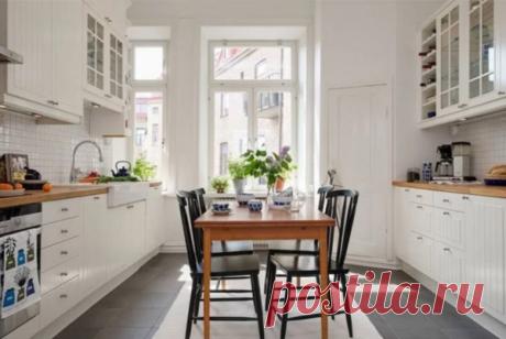 5 неочевидных способов добавить кухне света и простора без глобального ремонта | Кухмастер | Яндекс Дзен