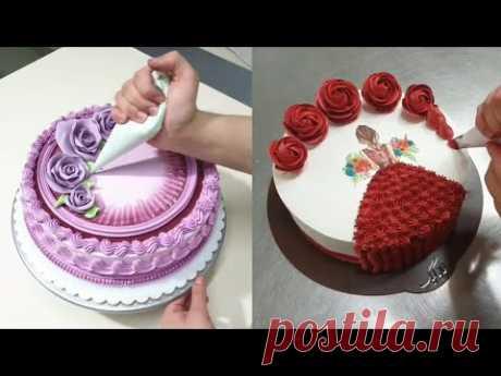 Торты||Красивое оформление тортов в восточном стиле 2 ||Как оформить торты||Для очеровательных дам.
