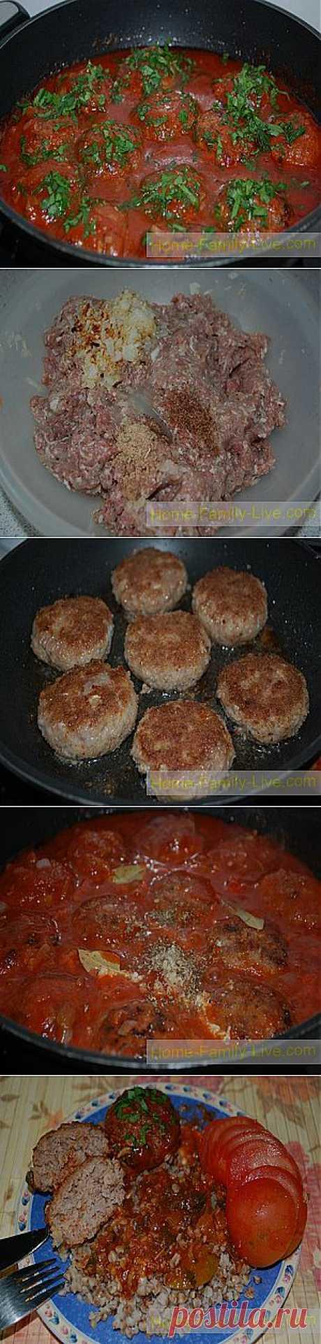 Кулинарные рецепты Котлеты в соусе » Кулинарные рецепты