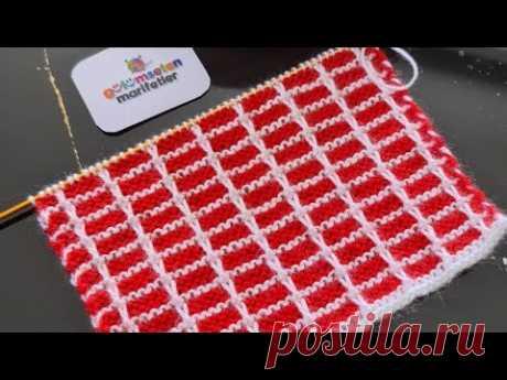 Самый любимый узор для вязания с использованием мужских / женских свитеров / кардиганов / 2 спиц