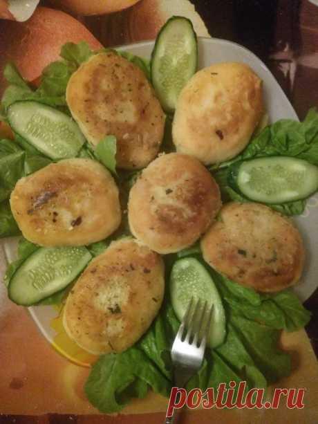Картофельные котлеты с начинкой — Кулинарная книга - рецепты с фото