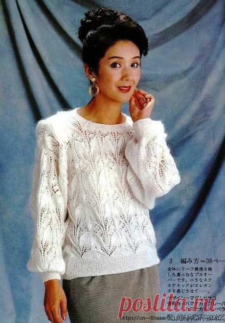 Простые узоры спицами со схемами и пояснением к ним + интересные модели связанные по японским схемам | Вязать легко/knitting | Яндекс Дзен