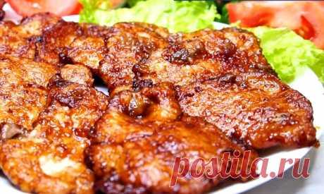 Вкусные отбивные на ужин: сочные и нежные «соломоны»