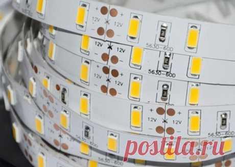 Неисправности светодиодных лент и методы их ремонта » Сайт для электриков - советы, примеры, схемы
