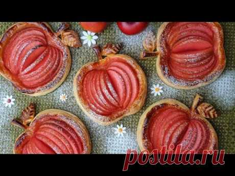 🍎 Рецепт хрустящего мини яблочного пирога / домашний / Mini Apple Pie / Boone Bake