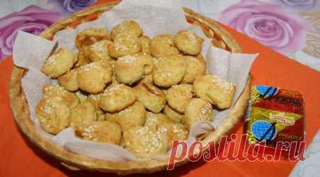 Соленое печенье из плавленых сырков: пошаговый рецепт с фото
