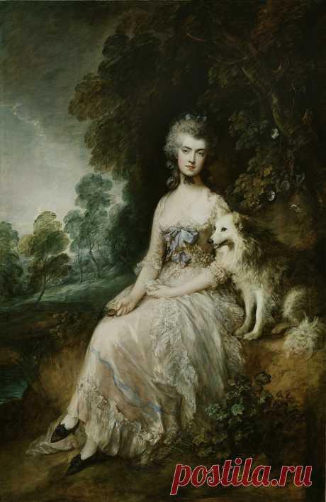 Mrs Mary Robinson, Perdita, 1781 Photograph by Thomas Gainsborough  (1727–1788)