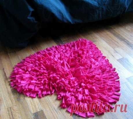 3 коврика из старых вещей. Вам понравится | Провинциалка в теме | Яндекс Дзен