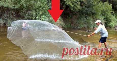 Хотите ловить много рыбы? Есть простой и удобный способ быстро наловить рыбы в любом водоеме сколько нужно! Смотрите!