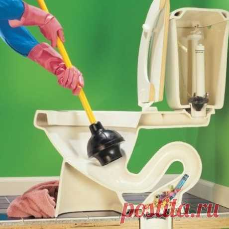 How to clean a toilet bowl: types of a blockage and methods of elimination of problems