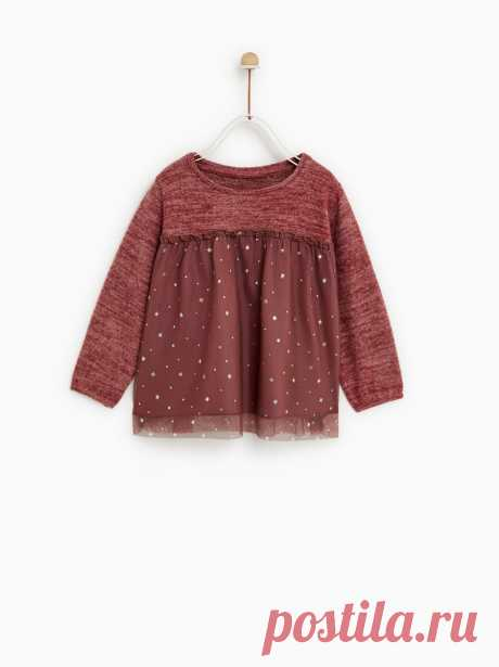 Коллекция для малышей – девочки | Новая коллекция онлайн | ZARA Беларусь