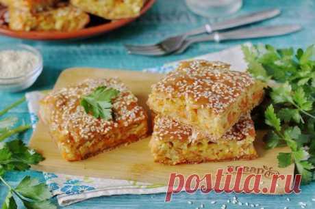 Овощной пирог - пошаговый рецепт с фото на Повар.ру
