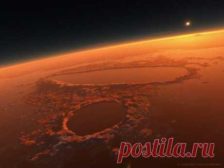 (+1) - Марсианские пейзажи | Наука и техника