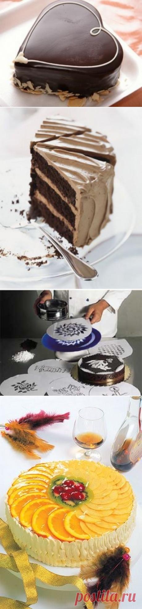 Украшение тортов в домашних условиях - MoiKompas.ru