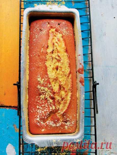 Пирог из кукурузной муки по-бразильски   Пирог из кукурузной муки яркий и вкусный. Полезен пирог тем, что он сдержит кукурузную муку.