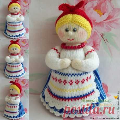 В чем преимущества вязаных кукол | Russian-Handmade