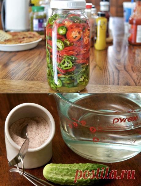 Как быстро замариновать любые овощи