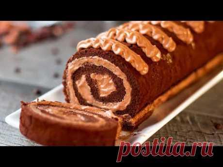 Tarta de chocolate − ¡Increíblemente deliciosa que se derrite en la boca! | Gustoso. TV