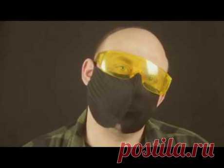 Защитная маска от коронавируса за 4 минуты - YouTube